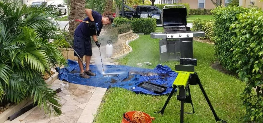 BBQ Grill Cleaning Near me
