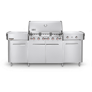 Weber Summit® Grill Center (Natural Gas) Stainless