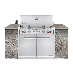 Weber Summit® S-660 Built-In Gas Grill