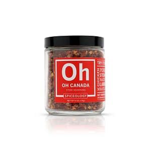 spiceology oh canada steak seasoning glass jar glass jars 6 oz