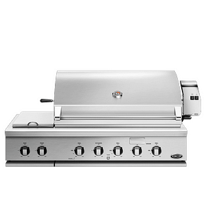 """DCS 48"""" Traditional Grill with Rotisserie and Side Burners"""