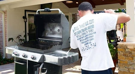 BBQ Grill Cleaning by Grill Tanks Plus
