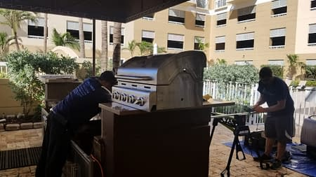 Outdoor Kitchens & Grill Cleaning