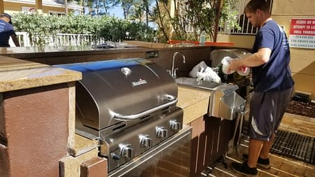 Outdoor Grill Repair Cleaning Services
