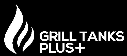 White Small Grill Tanks Plus Logo